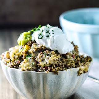 Slow Cooker Mexican Quinoa Casserole