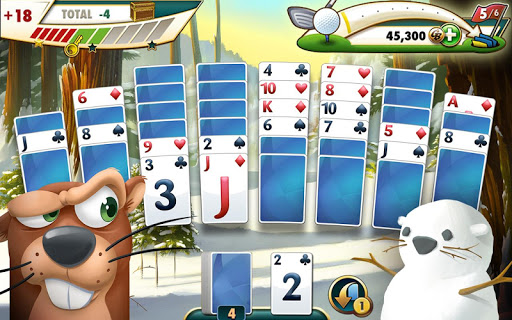 Fairway Solitaire screenshot 01