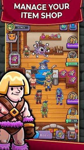 Dungeon Shop Tycoon: Craft, Idle, Profit! u2694ufe0fud83dudcb0ud83euddd9 modavailable screenshots 1