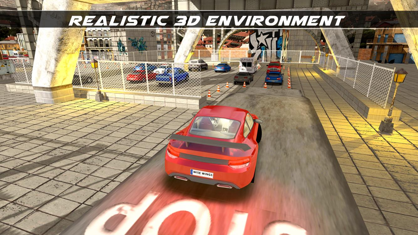 real car parking simulator 2018 hillside backyard android apps