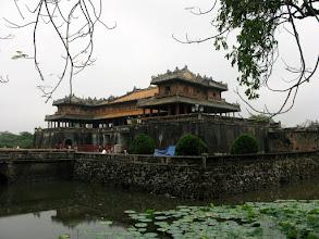 Photo: HUE - Citadela a Ngo Mon brana na cisarsky dvor / Citadel and gate to Imperial Enclosure