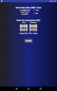 Air Force PT Test Calculator- screenshot thumbnail