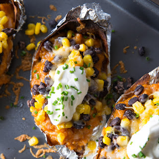 Southwestern Sweet Potato Skins
