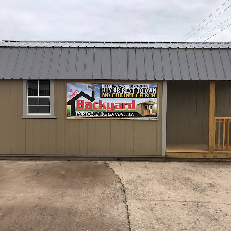Thrifty Backyard Portable Buildings-Rent-2-Own - Portable