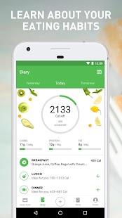 Runtastic Balance Food Tracker & Calorie Counter Screenshot