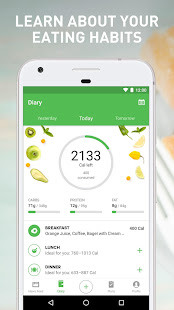 Runtastic Balance Food Tracker & Calorie Counter 2