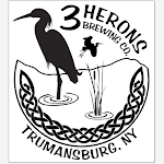 Logo for 3 Herons Brewing Company