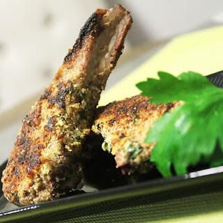 Almond & Parmesan Lamb Cutlets