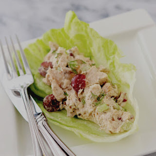 Lightened Chicken Salad Lettuce Wraps