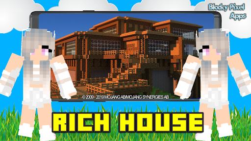 Mod Rich House [$1000000000]  captures d'u00e9cran 2