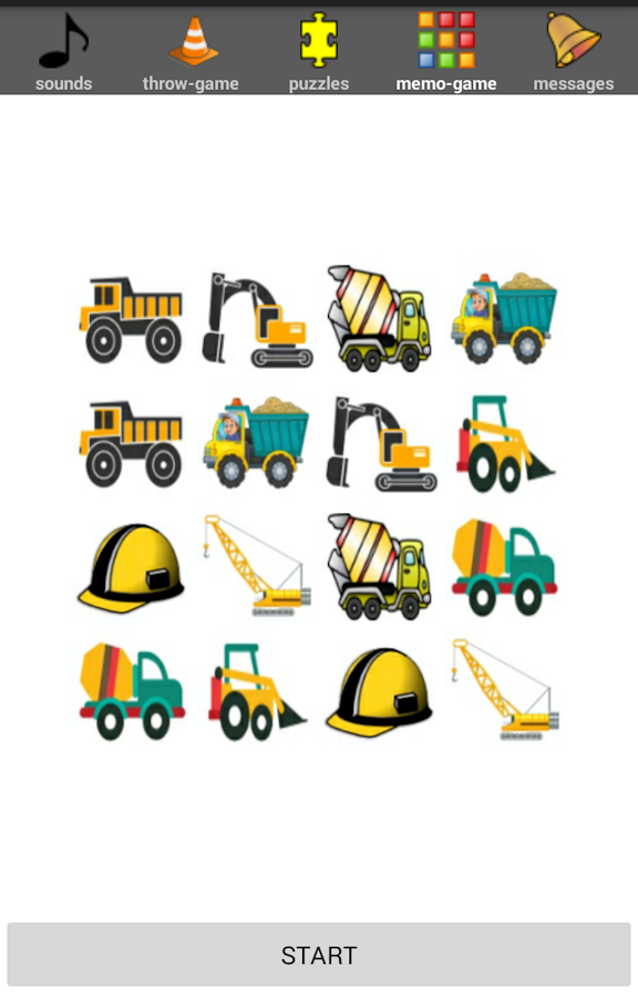 Construction Kids Games FREE Screenshot