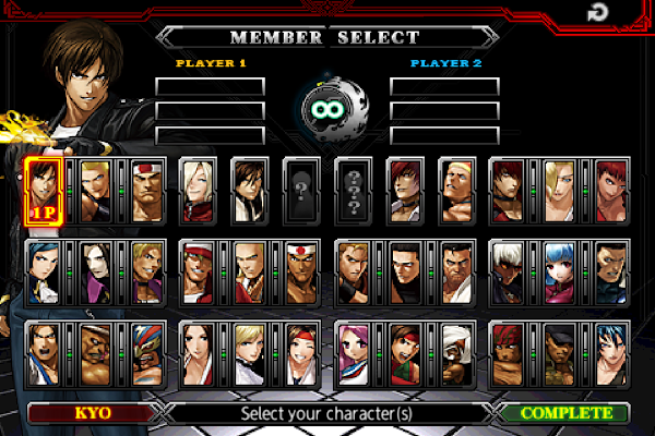 THE KING OF FIGHTERS-A 2012 Screenshot Image