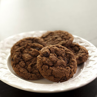 Triple Chocolate Chocolate Chip Cookies