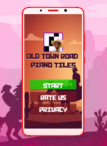 Lil Nas X Old Town Road Fancy Piano Tiles - screenshot