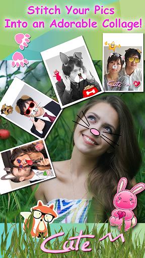 免費下載攝影APP|可爱 动物脸 贴纸 对于照片图片编辑器 app開箱文|APP開箱王