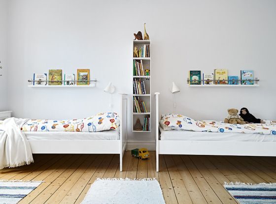Bedroom Storage Ideas With A Vertical Bookcase