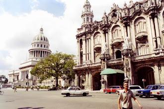 Photo: #021-La Havane-le Gran Teatro et le Capitolio