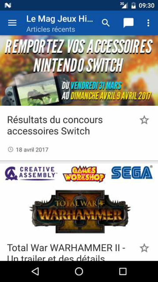 Le Mag Jeux High Tech- screenshot