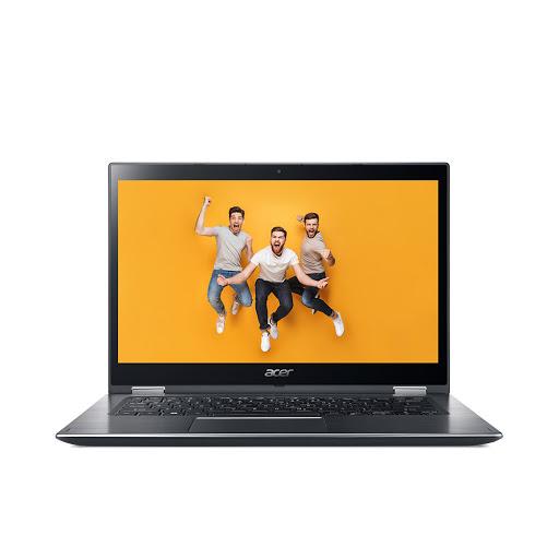 Máy tính xách tay/ Laptop Acer Spin 3 SP314-51-57RM (NX.GUWSV.004) I5-8250U (Xám)