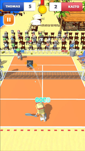 Cute Tennis Top Spin Master Challenge android2mod screenshots 2