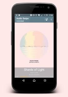 Audio Swipe - náhled