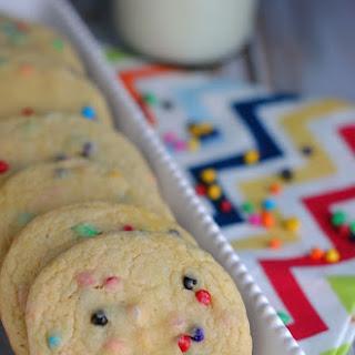Rainbow Cake Mix Cookies