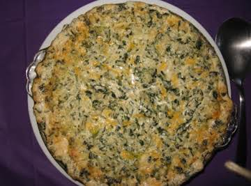 Hot Artichoke & Spinach Dip