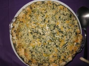 Hot Artichoke & Spinach Dip