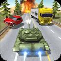 City Tank Traffic Driving icon