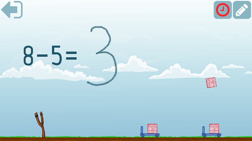 First grade Math - Subtraction app for Android screenshot