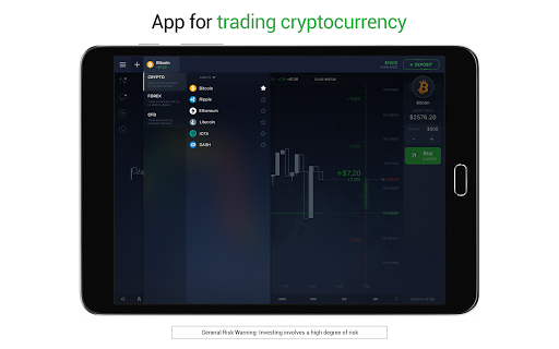 IQ Option broker: trade forex, CFD's, bitcoin screenshot 12