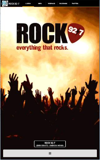 Rock 92 7