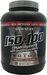 Dymatize Nutrition ISO 100 Hydrolyzed Whey Protein Isolate - Gourmet Chocolate, 1342g