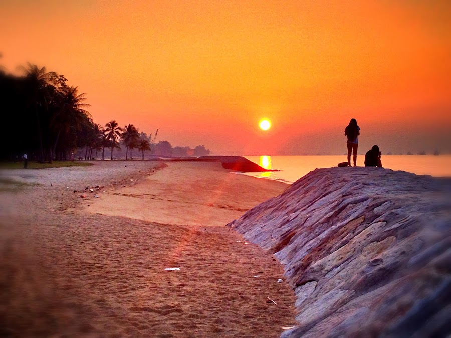 sunrise by Janette Ho - Instagram & Mobile iPhone ( relax, tranquil, relaxing, tranquility,  )