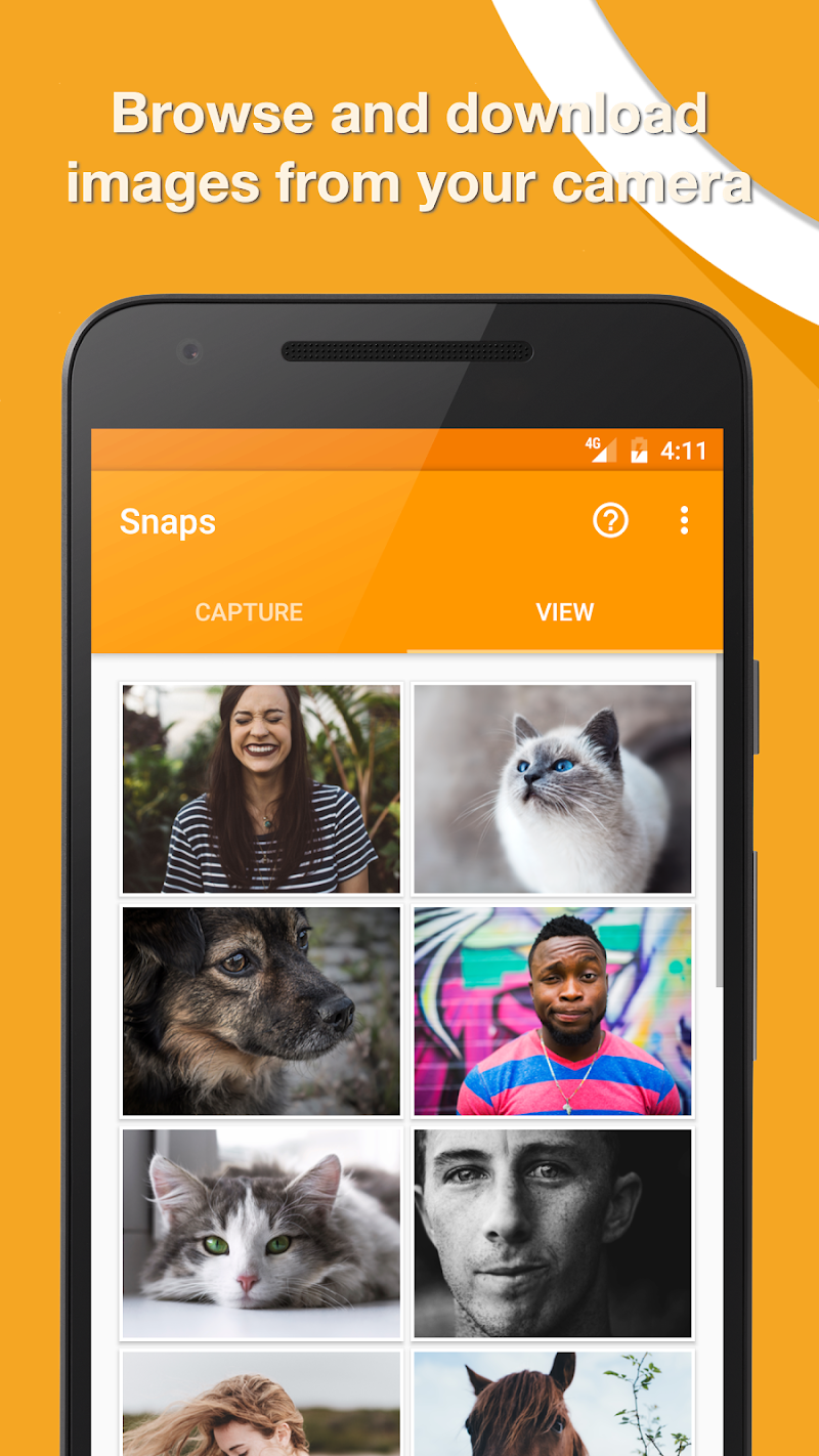 Snaps 🚀 DSLR Remote Screenshot 1
