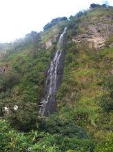 Photo: Waterfalls abound in Ecuador's mountains.