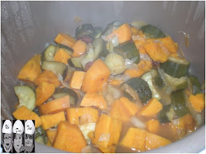 Photo: tajine de courgettes et patates douces