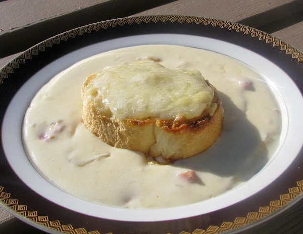 Croque Monsieur Soup Recipe