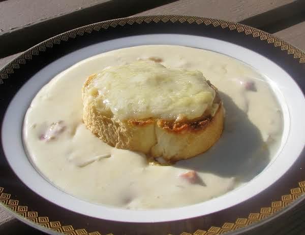 Croque Monsieur Soup