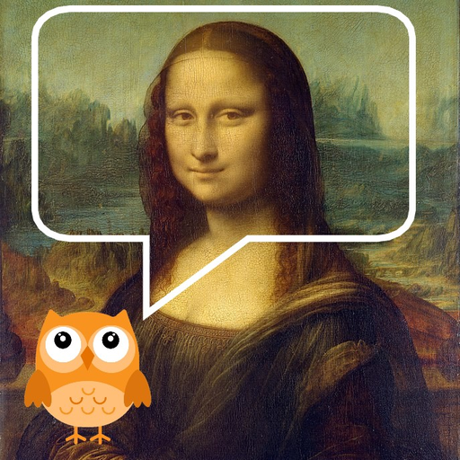 Louvre Chatbot Guide Icon