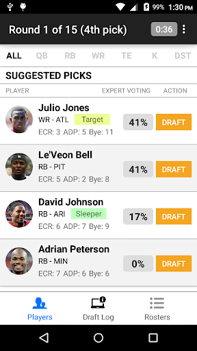 Fantasy Football Draft Wizard screenshot 2