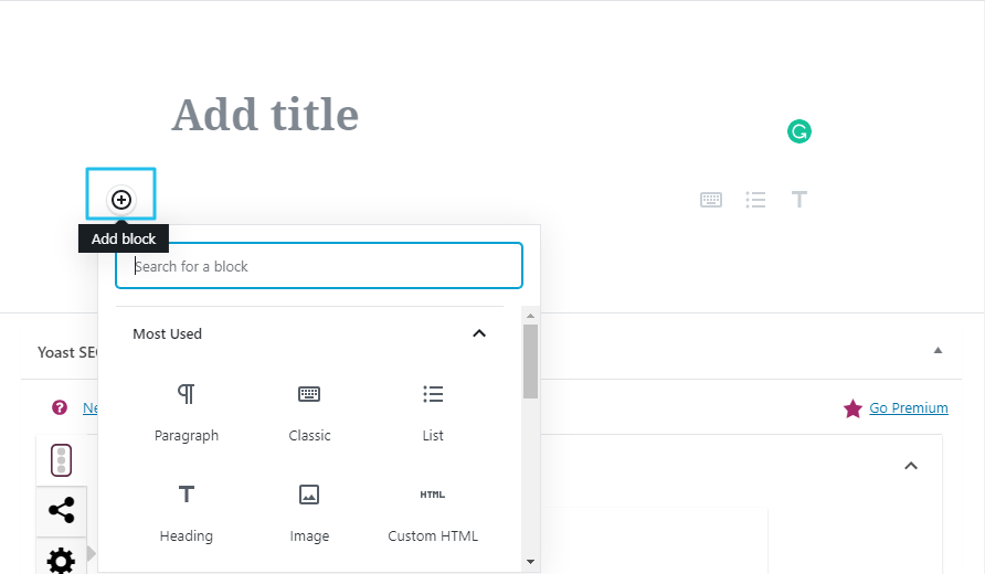 RSS feed on wordpress