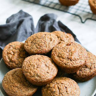 Healthy Whole Wheat Date Bran Muffins.