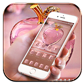 Rose Gold Apple Crystal Theme