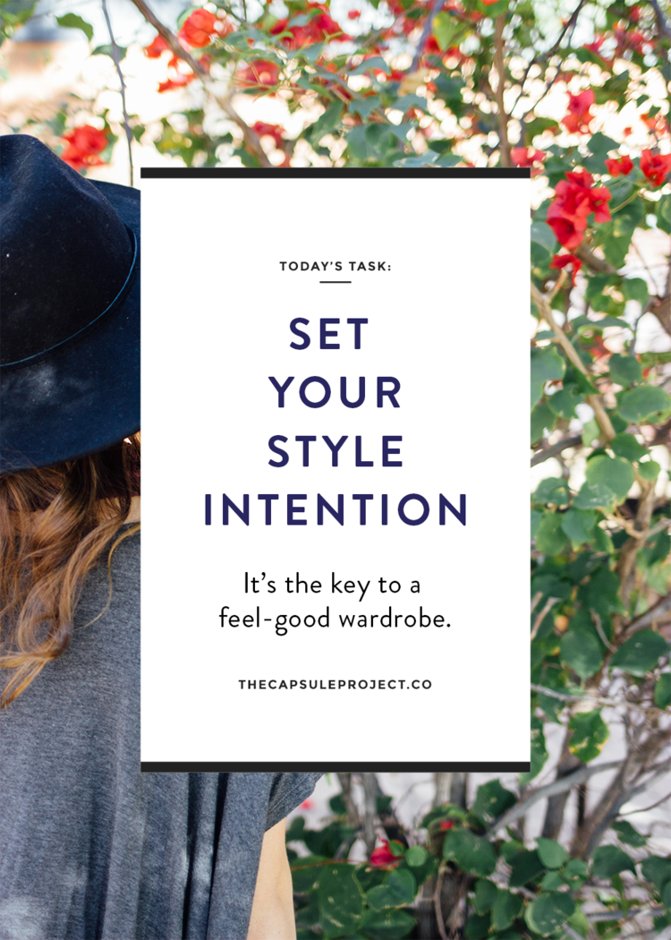 Set your style intention with this free workbook