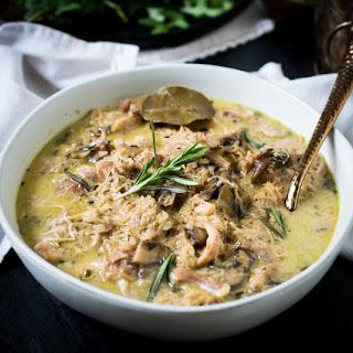 Instant Pot Chicken and Mushroom.