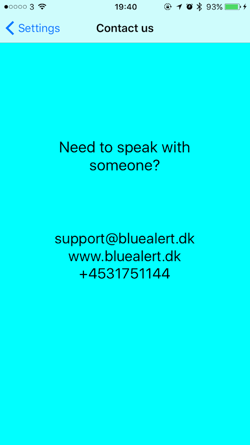 Blue Alert- screenshot