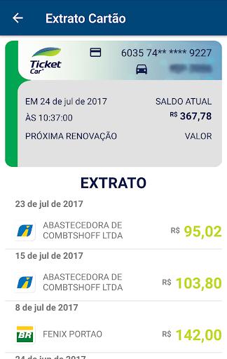 ticket log abastecimento screenshot 3