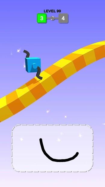 Draw Climber Android App Screenshot