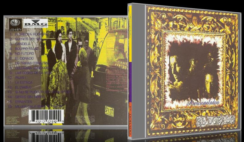 Aterciopelados - El Dorado (1995) [MP3 @320 Kbps]